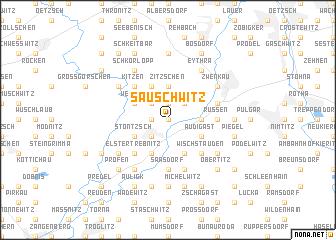 map of Sauschwitz
