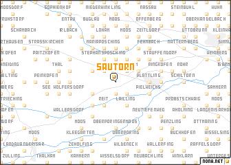 map of Sautorn