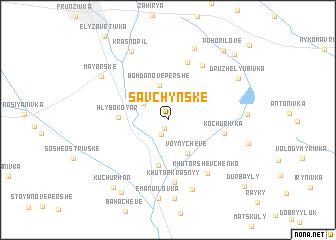 map of Savchyns\