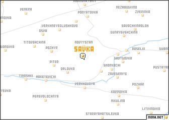 map of Savka