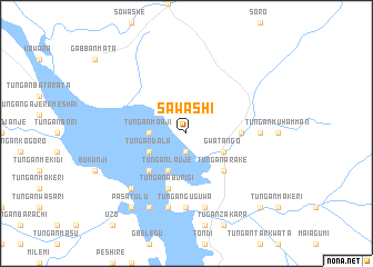 map of Sawashi