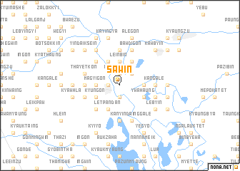 map of Sawin