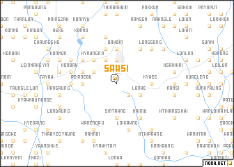 map of Sawsi