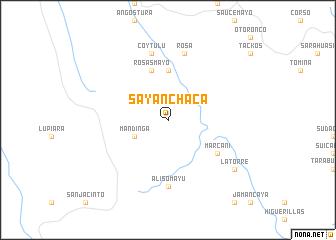 map of Sayanchaca