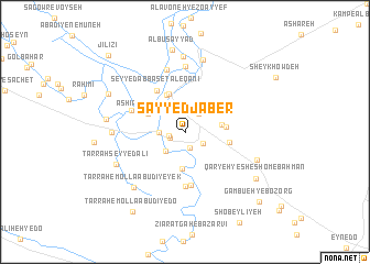 map of Sayyed Jaber