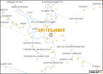 map of Sayyed Jaber