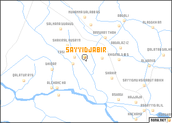 map of Sayyid Jābir