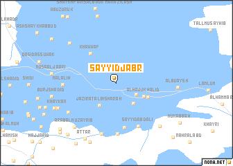 map of Sayyid Jabr