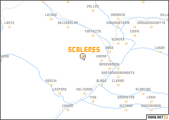 map of Scaleres