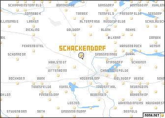 map of Schackendorf