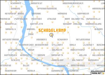 map of Schädelkamp