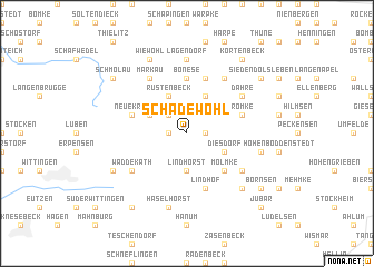 map of Schadewohl
