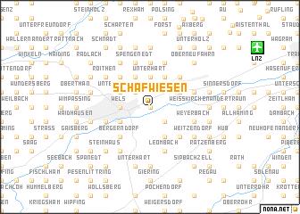 map of Schafwiesen