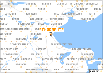 map of Scharbeutz