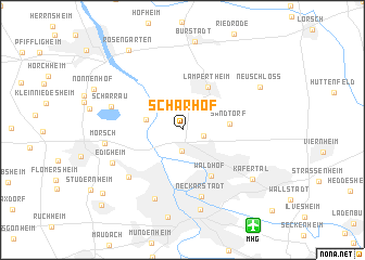 map of Scharhof