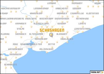 map of Schashagen