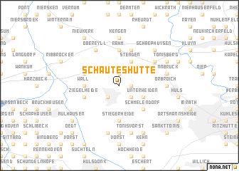 map of Schauteshütte