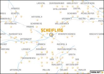 map of Scheifling