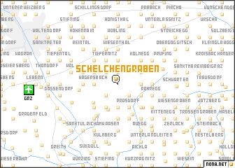 map of Schelchengraben