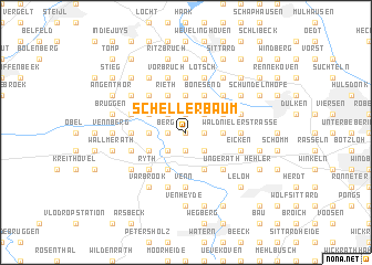 map of Schellerbaum
