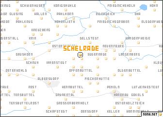 map of Schelrade