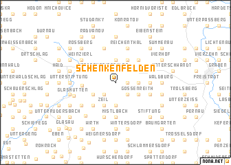 map of Schenkenfelden