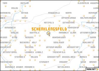 map of Schenklengsfeld