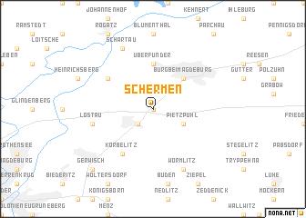 map of Schermen