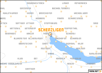 map of Scherzligen