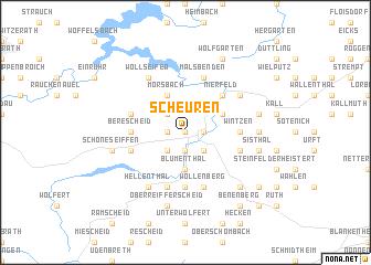 map of Scheuren