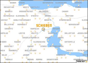 map of Schieben