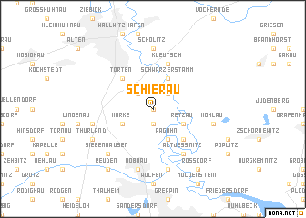 map of Schierau