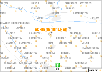 map of Schierenbalken