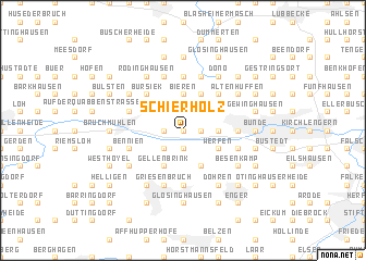 map of Schierholz