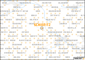 map of Schieritz