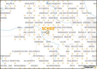 map of Schier