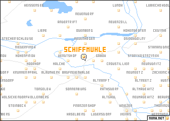 map of Schiffmühle