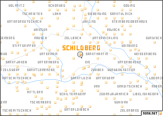 map of Schildberg