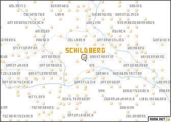 map of Schildberg