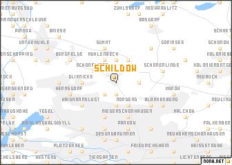 map of Schildow
