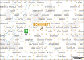 map of Schimmert