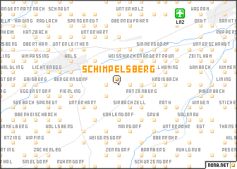 map of Schimpelsberg