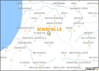 map of Schioviello