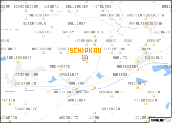 map of Schipkau