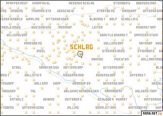 map of Schlag