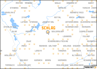 map of Schlag