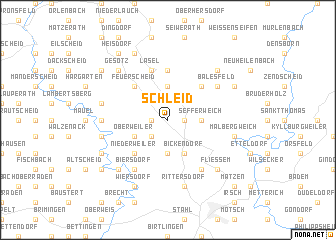 map of Schleid