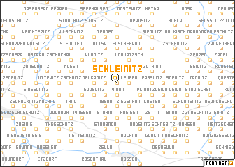 map of Schleinitz