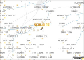 map of Schleinz