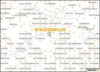 map of Schleißweiler